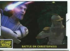Star Wars Clone Wars 2008 Animation Cell Chase Card #2