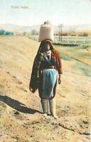 C-1910 New Mexico Water Carrier Pueblo Indian Rieder postcard 1603