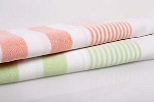 Lot of 2 Turkish Towels Peshtemals Foutas Beach Bath Towels Hammam Towels