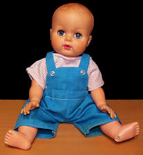 "Sweet Vintage 18"" Baby Doll - Painted Hair - VGC"