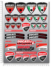 Ducati Corse decals sheet 35 stickers 899 1199 1299 Multistrada Monster Diavel