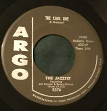 JAZZTET ART FARMER BENNY GOLSON The Cool One / Five Spot After Dark 45 Argo jazz