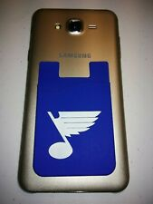 St. Louis Blues Silicone cell phone credit card holder