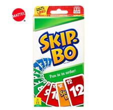 Mattel SKIP-BO  2-6 Spieler ab 7 Jahre ca. 20 min Karten Gesellschaftsspiel Uno