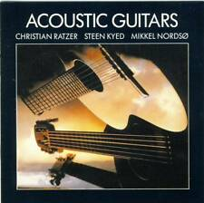 Christian Ratzer; Steen Kyed; Mikkel Nordso - Acoustic Guitars (CD) like new