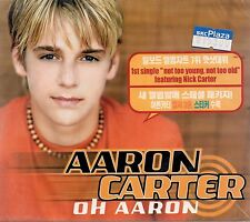 Aaron Carter - Oh Aaron 2001 Special Package Audio CD SEALED  NEW