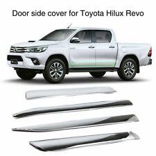 For Toyota Hilux Revo 2015 ABS Chrome Door Side Line Cover Trim Molding Exterior
