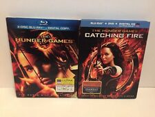 The Hunger Games And Catching Fire Bluray DVD Combo Free Shipping 1A