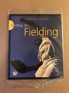 Ken Griffey Jr On Fielding 1997 mlb Pizza Hut Giveaway Book Mariners