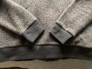Patagonia Men's Woolyester Fleece Jacket - Large - Grey