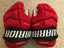 Warrior Covert QRL Pro Stock gloves New Jersey Devils 14 inches EUC