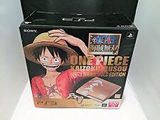 PS3 PlayStation 3 One Piece Console 320gb Japan *NEAR MINT FOR COLLECTION*