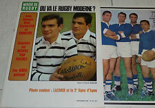 MIROIR RUGBY N°52 1965 PHOTO LACROIX AGEN BESSON FOURCADE GACHASSIN BEZIERS XIII