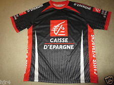 Caisse D'epargne French Bicycling Cycling Team Jersey LG Large mens