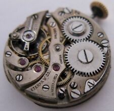 vintage Eterna 15j. 3 adj. manual watch movement for parts ...