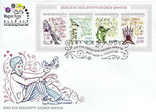 Sandor Weores Borns 100 Years Ago 2003 Story Drawing Cartoon (miniature FDC)
