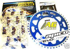 Yamaha Yz 125 05-08 Renthal 520 R1 Cadena & piñón Set 13t 49t Azul