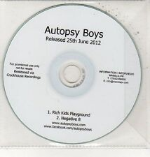 (DD53) Autopsy Boys, Rich Kids Playground - 2012 DJ CD