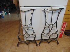 antique sewing machine base /stand/legs   nice  # 6611