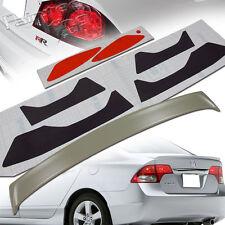 Headlight & Taillight Stickers& FOR HONDA CIVIC 8th 8 P TYPE TRUNK SPOILER SEDAN