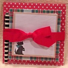 Hallmark SCOTTIE DOG MEMO PADS ~ Set of 3 with PEN ~ BRAND NEW!
