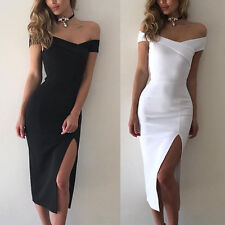 Women's Casual Bodycon Sleeveless Evening Party Cocktail Pencil Short Mini Dress