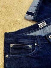 Naked & Famous Indigo Slim Straight Selvedge Denim Men's Size 34 x 34