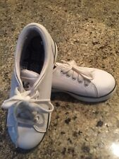 KEDS Classic White Leather Tennis Shoes Kids 12 EEUC