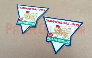 F.A. Premier League Gold Soccer Patch / Badge 1992-1993 Manchester United Jersey