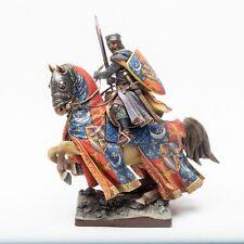 ELITE TIN SOLDIER: Medieval Knight 90 mm,metal sculpture.
