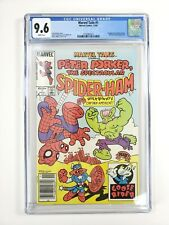 MARVEL TAILS #1 CGC Grade 9.6 Newsstand Edition 1st Peter Porker Spider Ham 1983