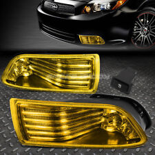 FOR 05-10 SCION TC AMBER LENS BUMPER DRIVING FOG LIGHT REPLACEMENT LAMP W/SWITCH