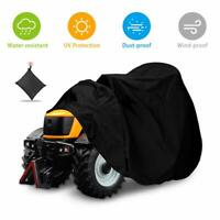 Fit Deck up to 72In Riding Lawn Mower Tractor Cover Garden Heavy Duty Waterproof