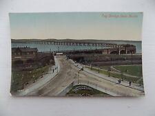 Vintage Old Postcard Tay Bridge Scotland Fife Dundee Unposted