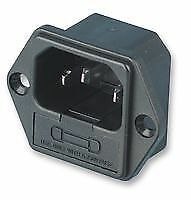 CONN INLET IEC FUSED 6.3A PANEL Connectors Power Entry - CZ58675