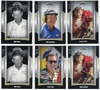 2012 Press Pass Legends Racing Rainbow Silver Holofoil You Pick Finish Your Set