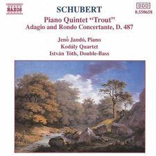 Schubert Klavierquintet, D. 667 'Trout'/Adagio & rondo concertante, D. 48.. [CD]