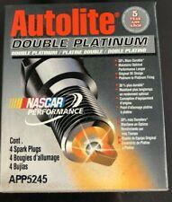 Spark Plug-Double Platinum Autolite APP5245 Box Of (4) Spark Plugs