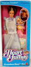 MATTEL HEART FAMILY VINTAGE **GRANDMA HEART SET/GRANDMOTHER**MIB