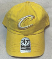 Cleveland Cavaliers '47 Brand NBA Strapback Adjustable Dad Cap Hat Clean Up Cavs