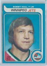1979-80 OPC O-Pee-Chee #185 Bobby Hull Winnipeg Jets NM