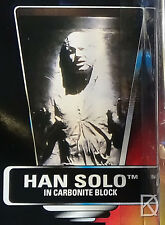 Han Solo In Carbonite Block UnOpened Act Fig '95 Star Wars POTF2 Red Orange Card