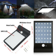 New Listing36Led Solar Powered Motion Sensor Light Outdoor Security 3 Mode Waterproof