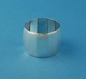 %%% BSF 123 - Serviettenring, 830er Silber - ohne Monogramm