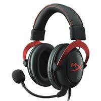 Kingston Gaming Headset HyperX Cloud II KHX-HSCP-RD Black/Red from Japan New