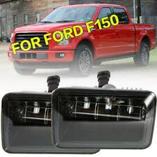 For 2015 2016 2017 Ford F150 LED DRL Projector Fog Lights Bumper Lamps Pair