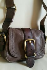 Fossil Leather crossbody messenger Shoulder Bag Small