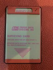 Tds Survey Gx Card For Hp 48