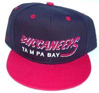 Vintage Tampa Bay Buccaneers Flatbill Snapback Cap Hat