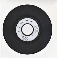 "SANDRA Vinyl 45T 7"" WE'LL BE TOGETHER 89 Remix IT MEANS FOREVER - VIRGIN 90498"